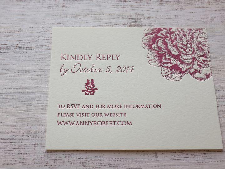 Tmx 1404863174277 Annyrobert 202 Irvine, California wedding invitation