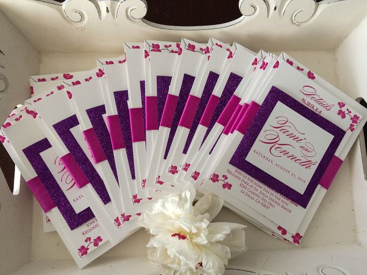 Tmx 1404863549609 Tamiken 103 Irvine, California wedding invitation