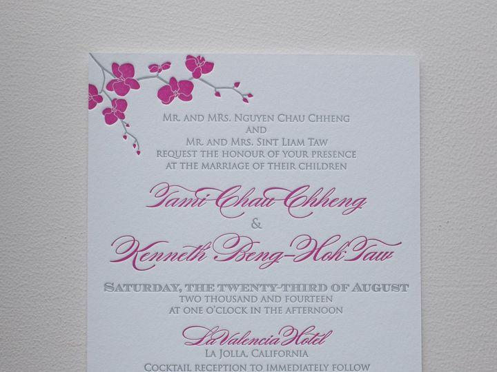 Tmx 1404863572249 Tamiken 105 Irvine, California wedding invitation