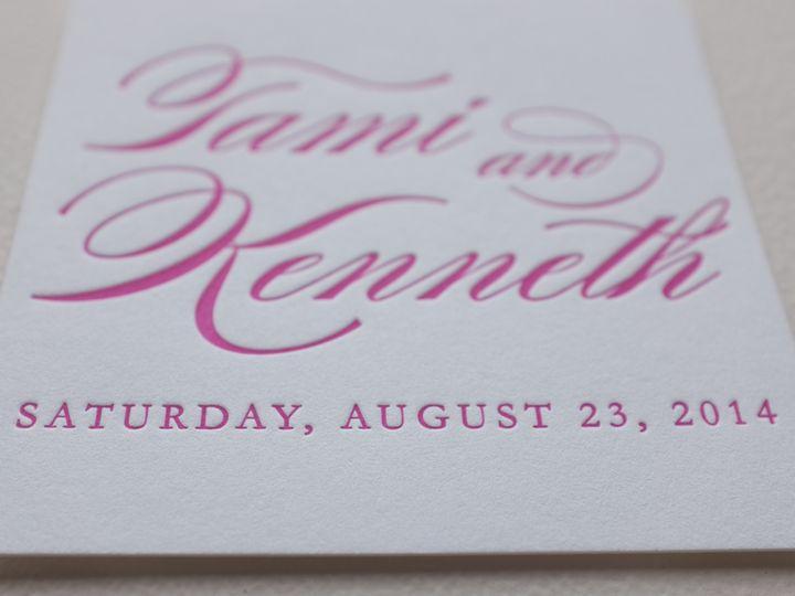 Tmx 1404863604713 Tamiken 108 Irvine, California wedding invitation