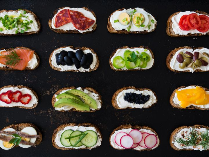 Tmx 1470677101683 Crostini Assortment Real Food Website New York, New York wedding catering