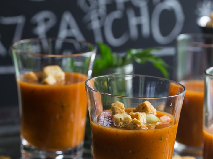 Tmx 1470677102328 Gazpacho Real Food Website Soup Shot  New York, New York wedding catering