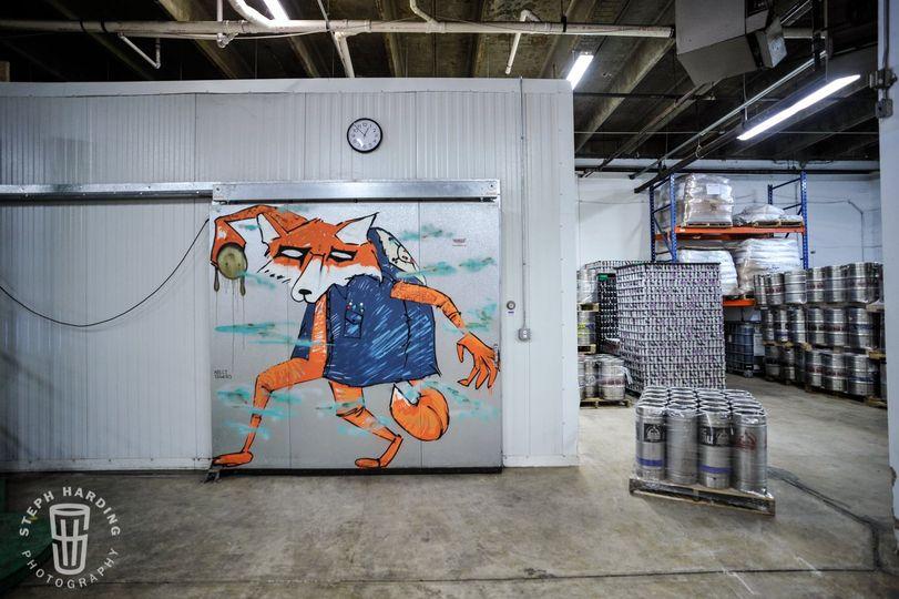 Custom Kelly Towles mural