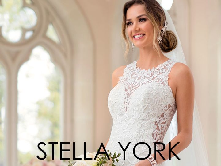 Stella York dress