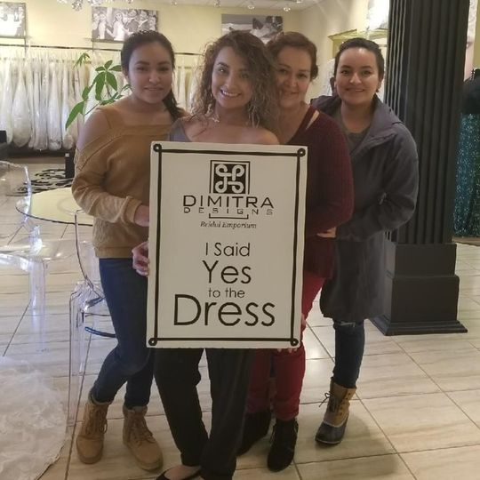 January, 2018 Congratulations to @MarisaPerez. She visited our store with her #bridaltribe and...