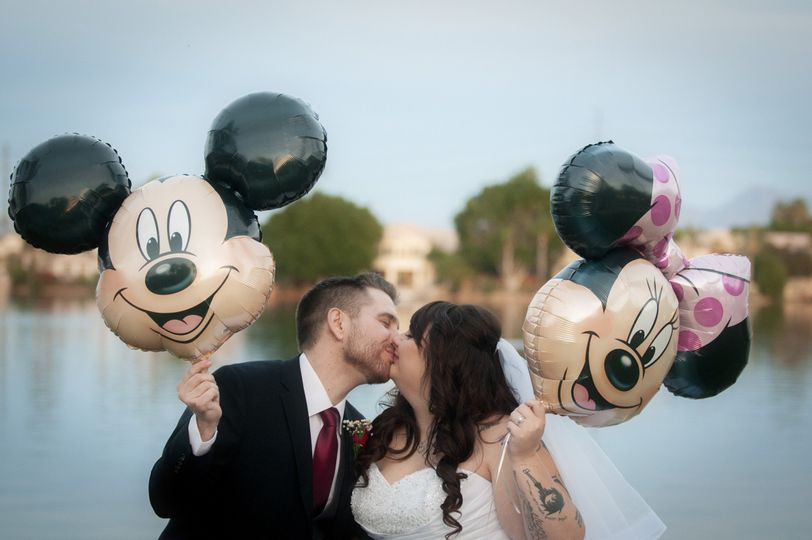 Disney-themed wedding