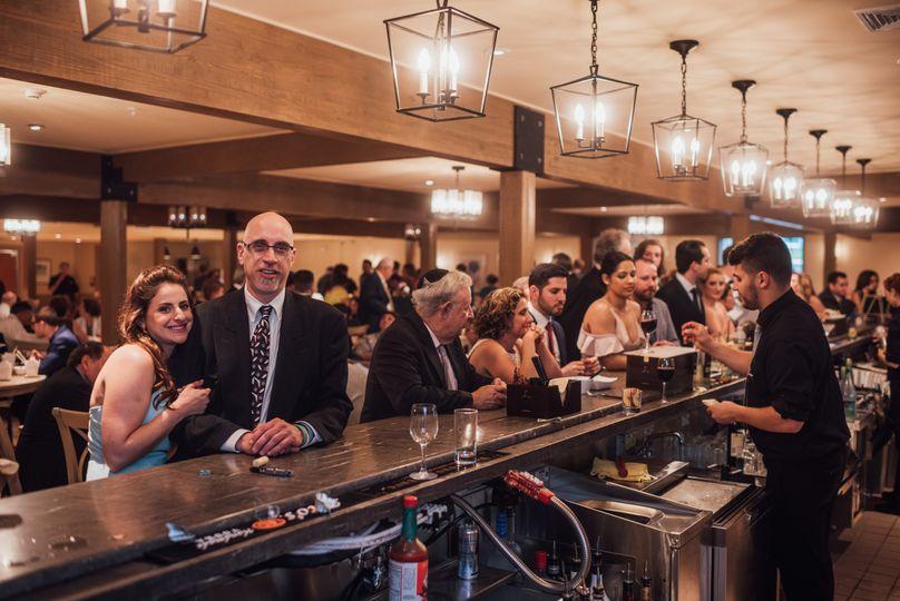 Cocktail hour bar