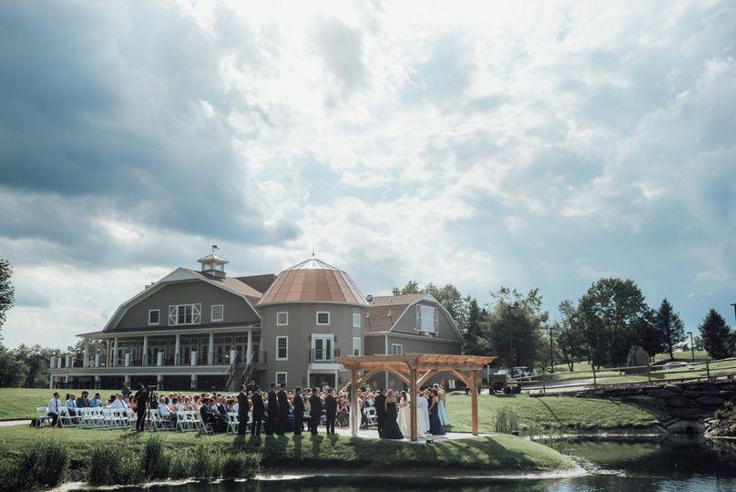 Ceremony & reception onsite