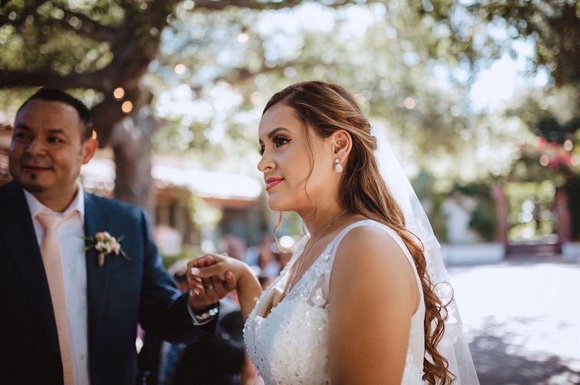 Bride Makeup and Hair