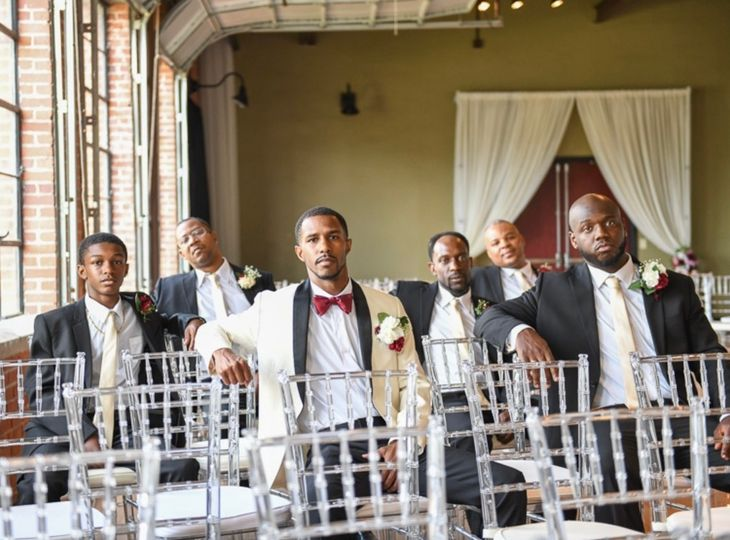 Grooms Chilling