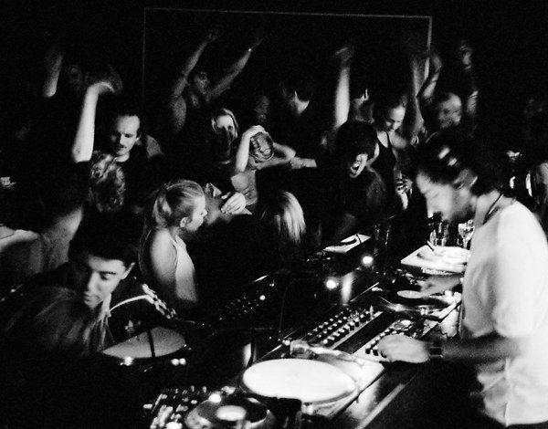 always nice to DJ a wedding in a club with a proper DJ setup.