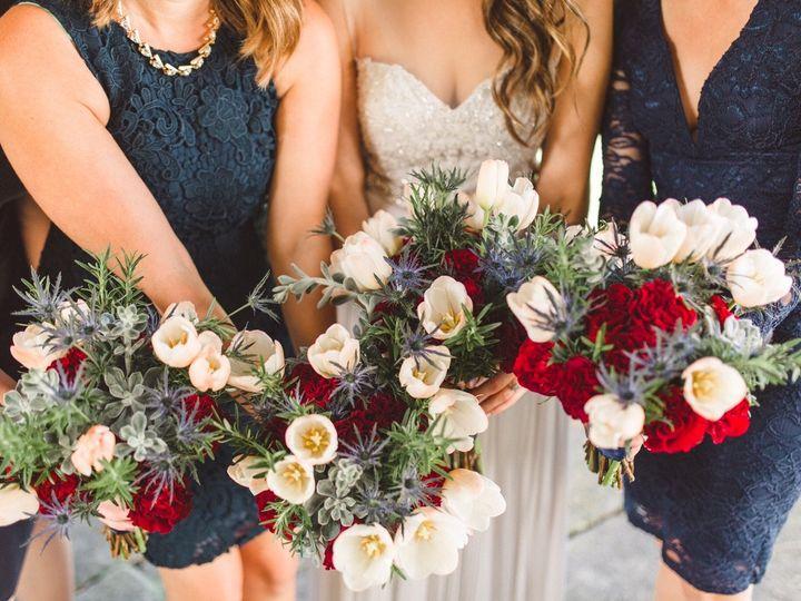 Tmx 1458663855215 Elizabeth Matt Web Size 0223 Van Meter wedding florist