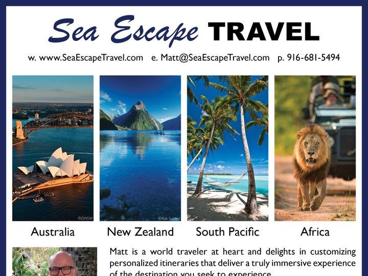 Tmx Sea Escape Travel May 2018 Ad 51 549041 1560188537 Folsom, CA wedding travel