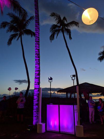 Water Lighting at Hyatt Maui
