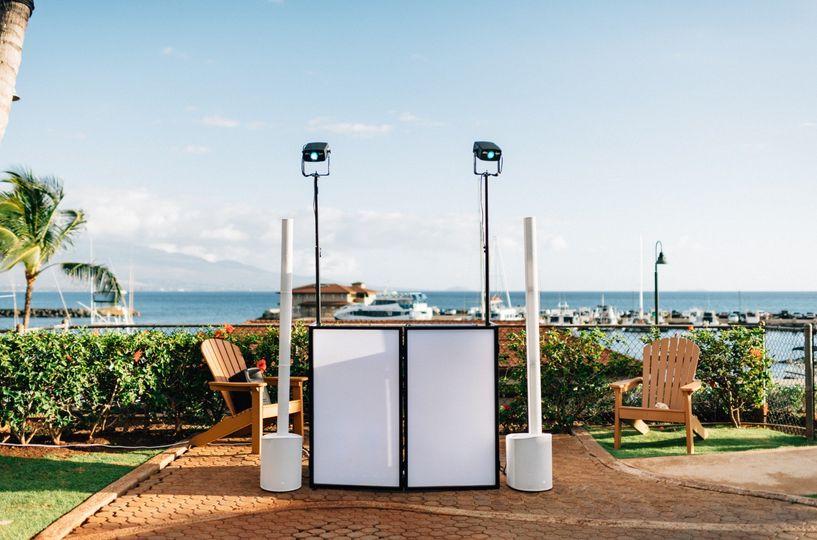 DJ Booth at Maui Ocean Center