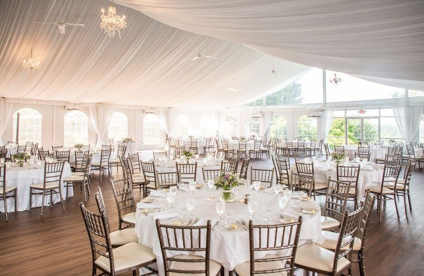 Tented ballroom
