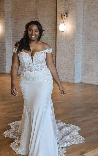 A confident bride