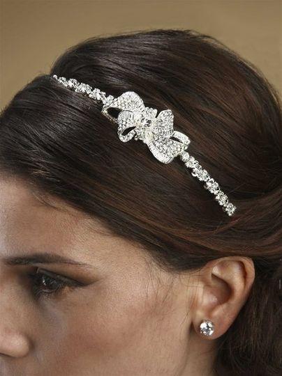 Beautiful Side Swarovski Crystal Headband