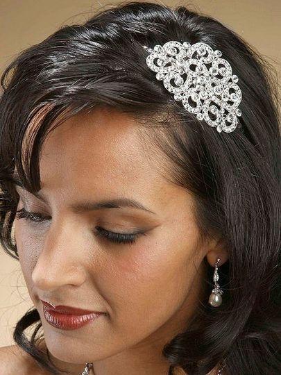 Bold and Beautiful Swarovski Crystal Side Headband!