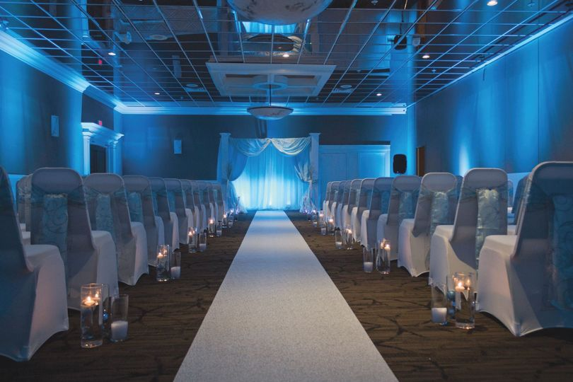 Wedding hallway