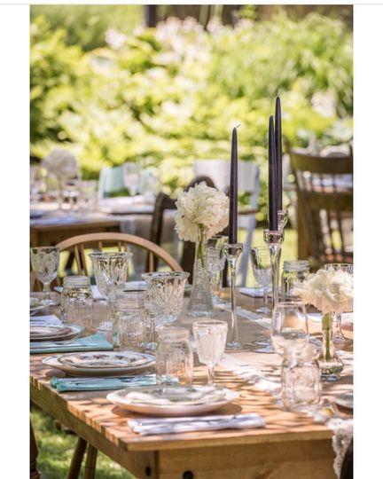 table set wedding