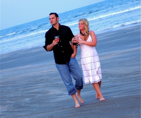 Engagement session in Galveston