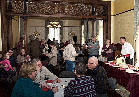 The Grand Parlor at 9 Vassar Street can accommodate a variety of events like wedding showers,...