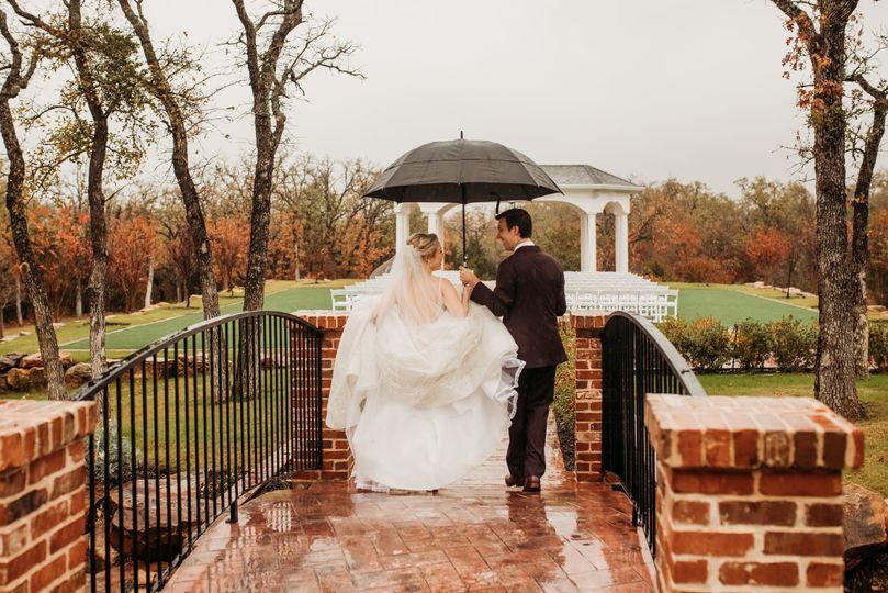Parker Manor rainy day
