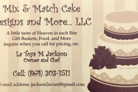 Mix @ Match Cake Designs, Catering and More