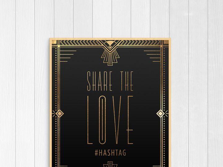 Tmx 1456329114399 Hashtag Tulsa wedding invitation
