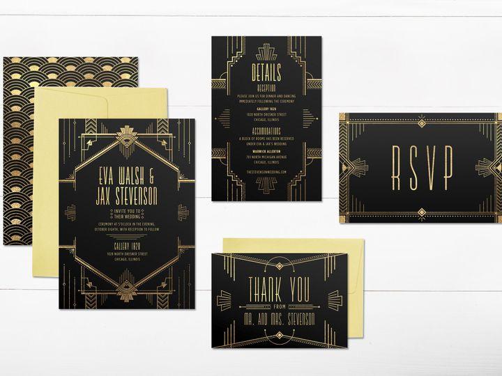 Tmx 1456329143085 Invitation1 Tulsa wedding invitation