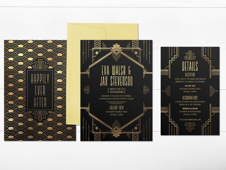 Tmx 1456329191110 Invitation2 Tulsa wedding invitation