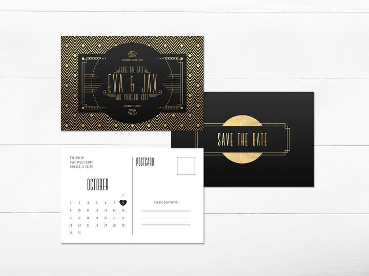 Tmx 1456329239685 Invitation3 Tulsa wedding invitation