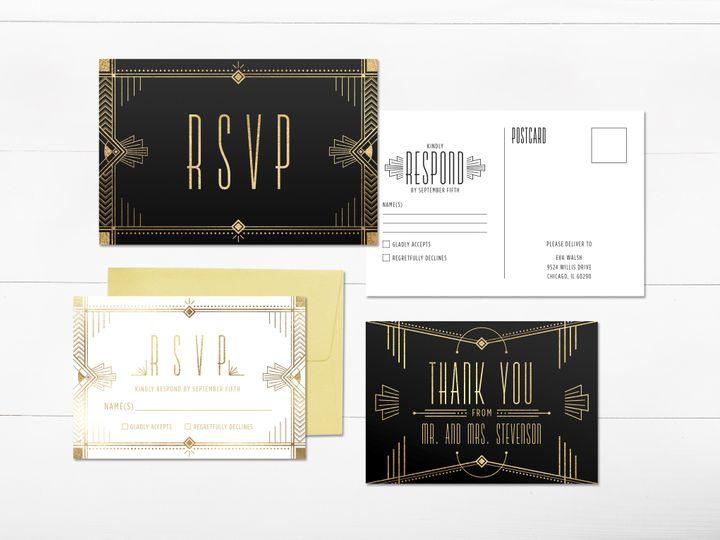 Tmx 1456329287998 Invitation4 Tulsa wedding invitation