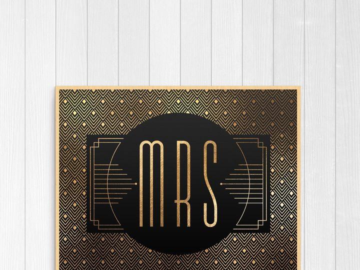 Tmx 1456329328795 Misses Tulsa wedding invitation