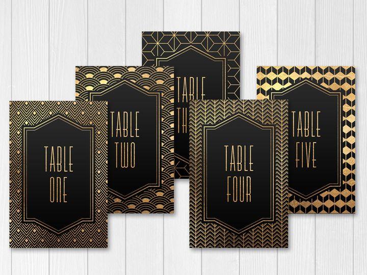 Tmx 1456329363849 Tablenumbers Tulsa wedding invitation