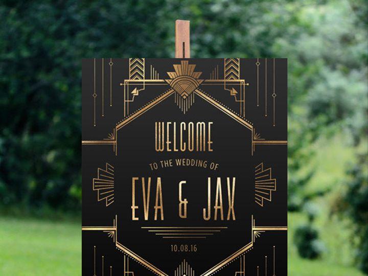 Tmx 1456329372847 Welcome Tulsa wedding invitation