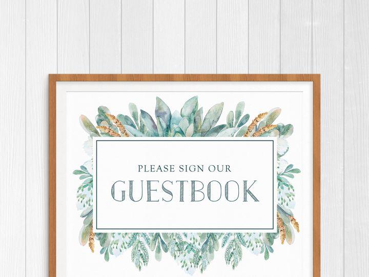 Tmx 1456329809040 Guestbookwhite Tulsa wedding invitation
