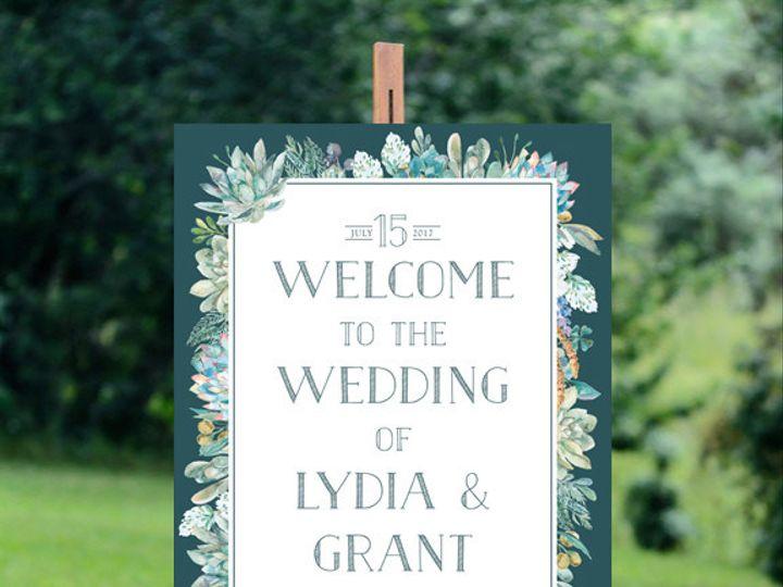 Tmx 1456330068402 Welcomesign Tulsa wedding invitation