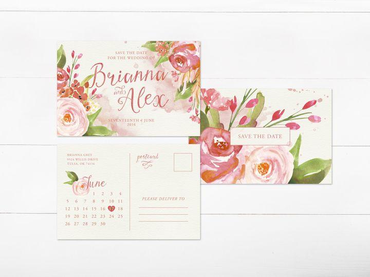 Tmx 1456330497951 Invitation3 Tulsa wedding invitation