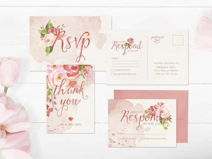 Tmx 1456330569087 Invitation4 Tulsa wedding invitation