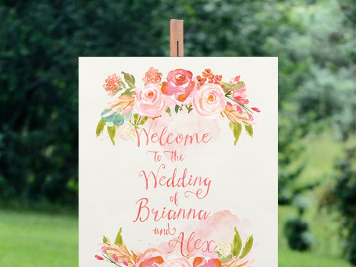 Tmx 1456330772647 Welcomesign Tulsa wedding invitation
