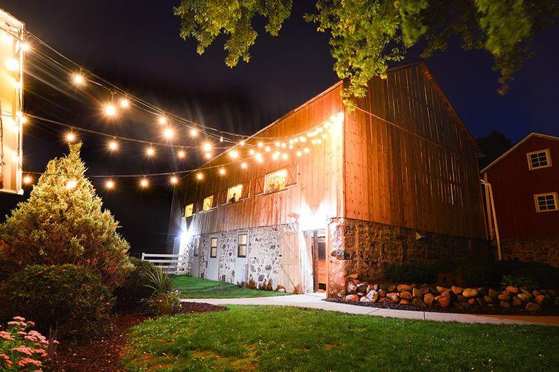 String lights-kingsheart farm