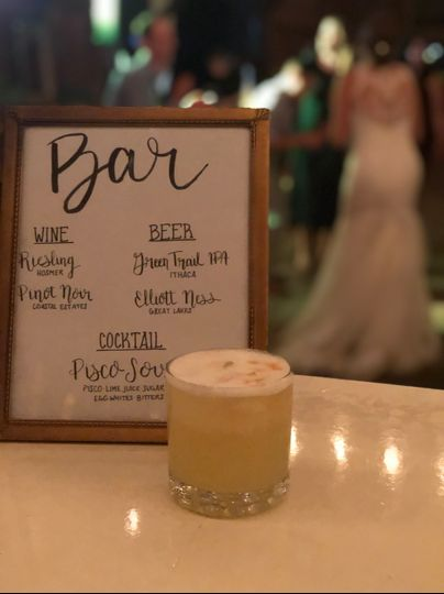 Custom Cocktails: Bar Services