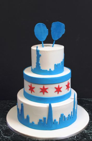 Alliance Bakery Wedding Cake Chicago Il Weddingwire