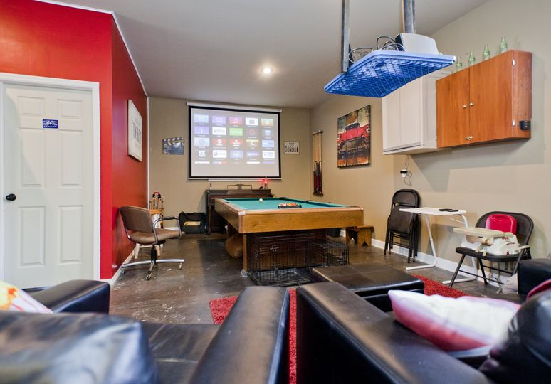 Workout Facility Game Room