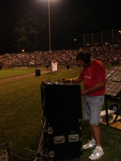 Supplying music before, during, and after the fireworks park wide.