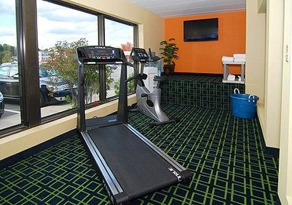 Complimentary Fitness Center along with complimentary passes to the local Elite Fitness Center just...