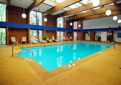 We have a great indoor heated swimming pool open until 10pm daily.