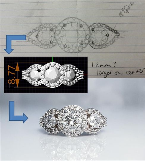 diamonds direct minneapolis custom design jewelry